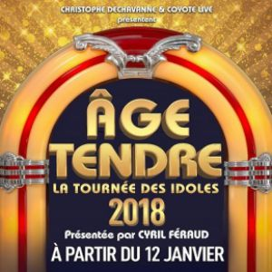 AGE TENDRE LA TOURNÉE DES IDOLES 2018 @ Zénith Arena  - LILLE