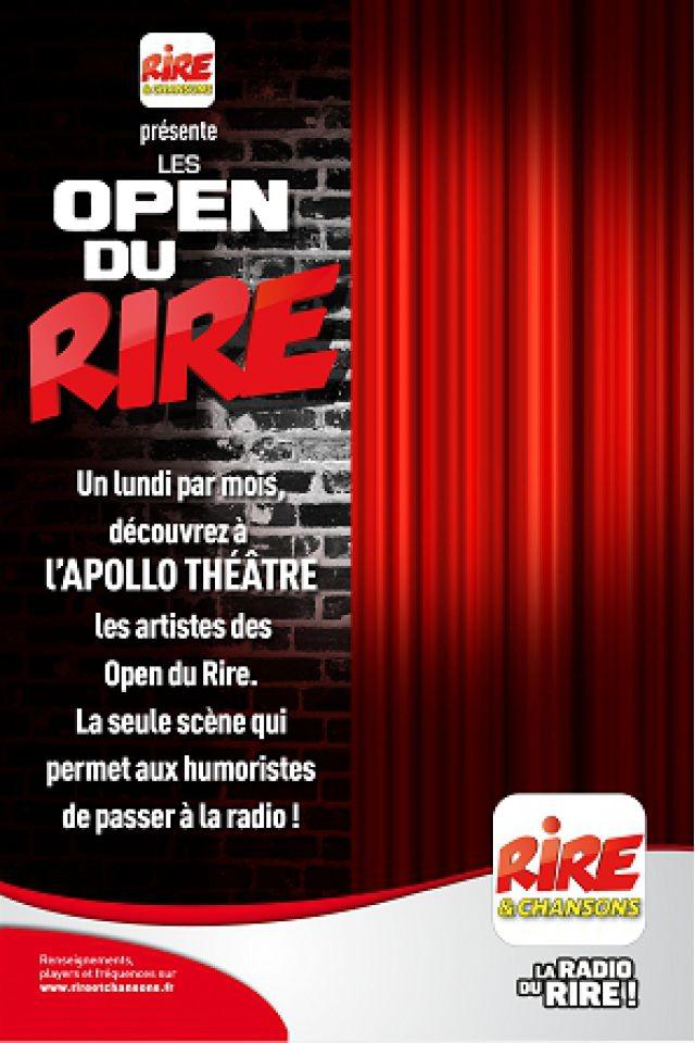 LES OPEN DU RIRE  @ APOLLO THEATRE - PARIS