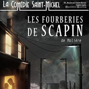 LES FOURBERIES DE SCAPIN @ La Comédie Saint Michel - Grande salle - PARIS