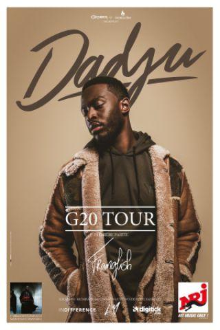 Concert DADJU - G20 TOUR à Toulouse @ ZENITH TOULOUSE METROPOLE - Billets & Places