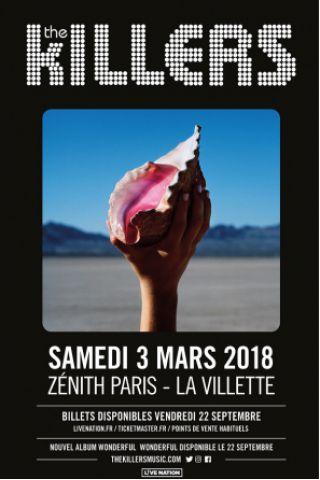 Concert THE KILLERS à Paris @ Zénith Paris La Villette - Billets & Places