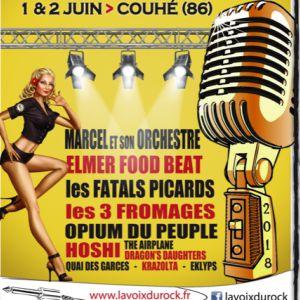 LA VOIX DU ROCK - Elmer Food Beat officiel / Les Fatal Picards... @ Abbaye de Valence - COUHÉ