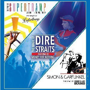 Rock Legends Supertramp, Dire Straits & Simon And Garfunkel