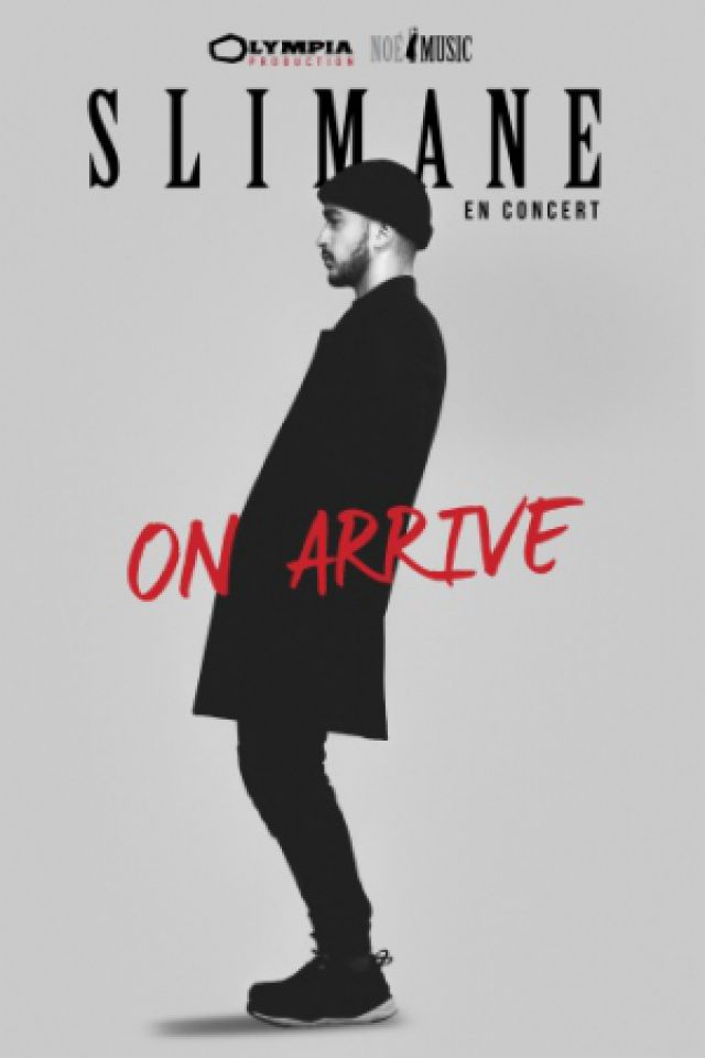 "Concert Slimane ""On arrive"" à TOUL @ La Salle de l'Arsenal - Billets & Places"