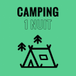 WE LOVE GREEN - CAMPING - 1 NUIT