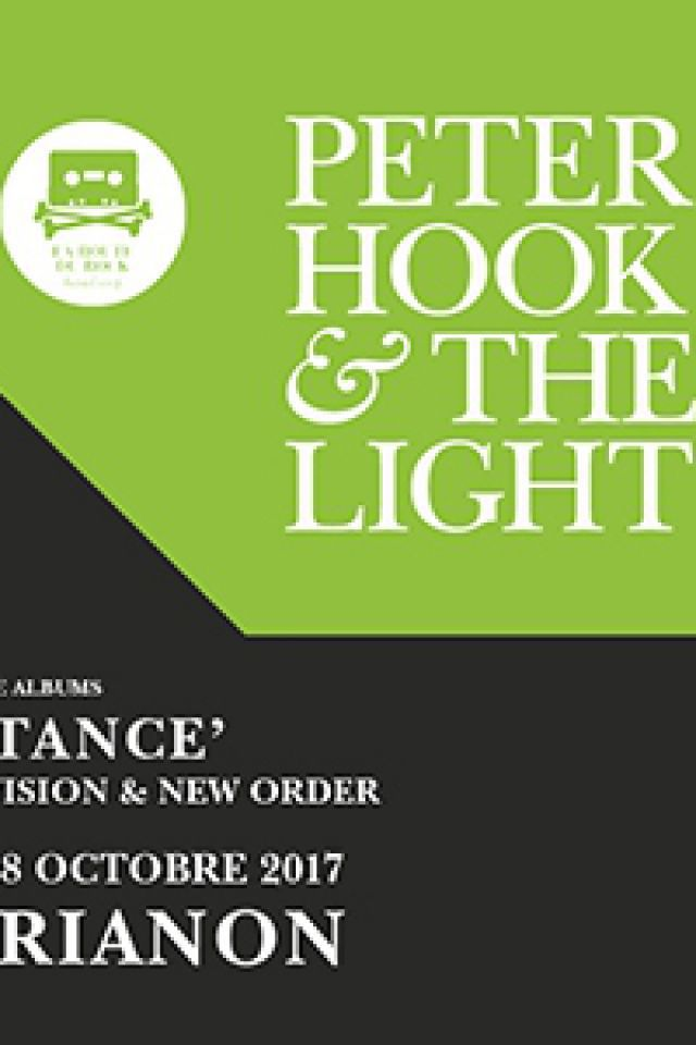 Concert Peter Hook & The Light - Paris @ Le Trianon - Billets & Places