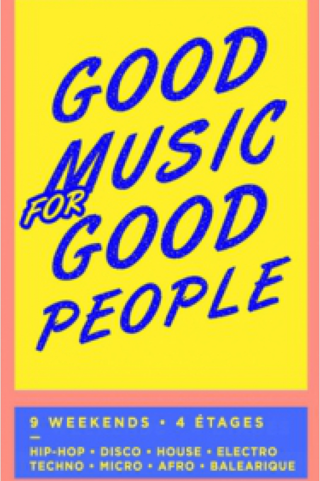 Baleamakina • Good Music For Good People @ La Machine du Moulin Rouge - Paris