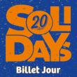 Festival SOLIDAYS 2018 - BILLET DIMANCHE à Paris @ Hippodrome de Longchamp - Billets & Places