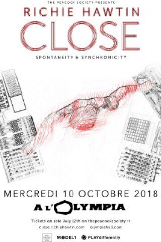 Concert RICHIE HAWTIN à Paris @ L'Olympia - Billets & Places