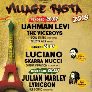 FESTIVAL VILLAGE RASTA 2018 - PASS 3 JOURS @ Cabaret Sauvage - Paris