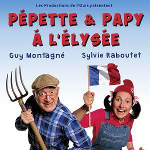 Pépette Et Papy A L'élysée