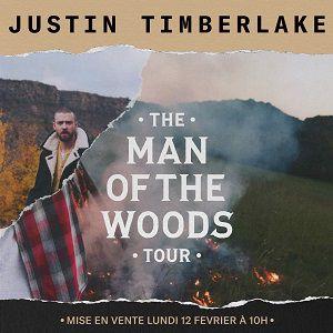 JUSTIN TIMBERLAKE - The Man of the Woods Tour @ ACCORHOTELS ARENA - PARIS