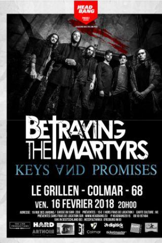 Concert Betraying the Martyrs au Grillen à COLMAR @ Le GRILLEN - Billets & Places