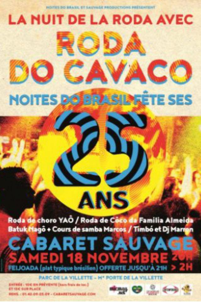 Roda do Cavaco - Nuit de la Roda @ Cabaret Sauvage - Paris