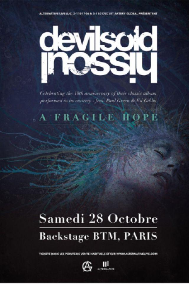 "DEVIL SOLD HIS SOUL -  ""A FRAGILE HOPE"" 10TH ANNIVERSARY TOUR @ Le Backstage by The Mill - Paris"