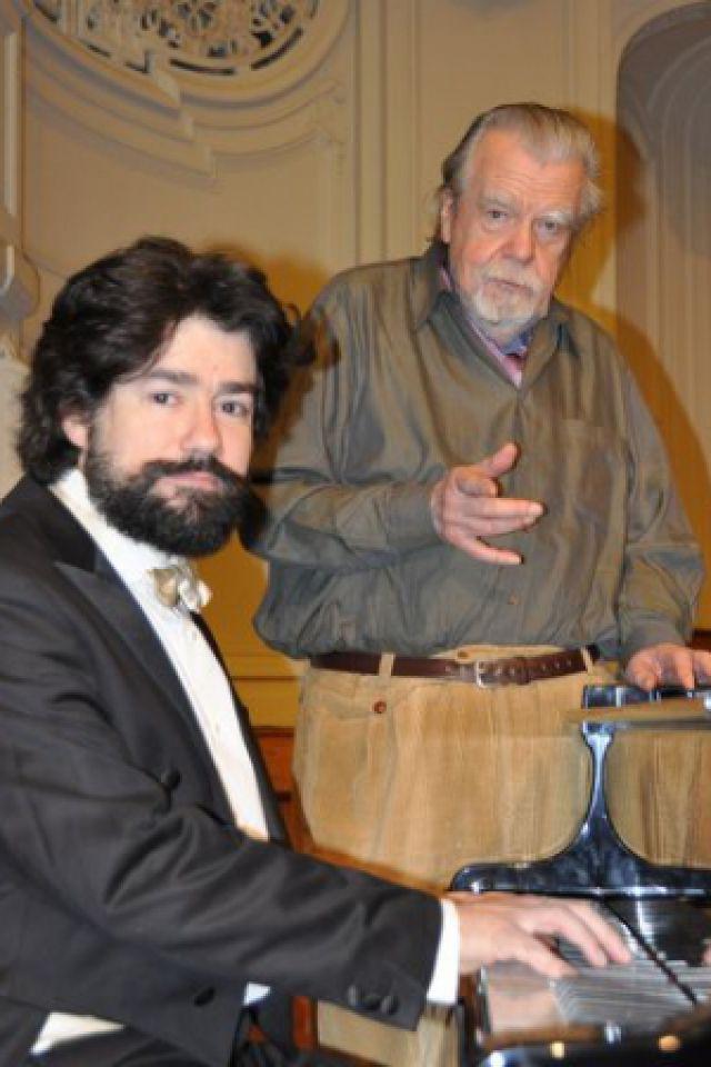 Récital de piano Nicolas Celoro avec Michaël Lonsdale récitant @ Cinéma-Théâtre de la Renaissance - SAINT TROPEZ