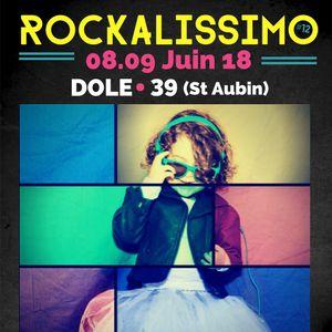 FESTIVAL ROCKALISSIMO - VENDREDI 8 JUIN 2018 @ Maison du patrimoine - Saint Aubin