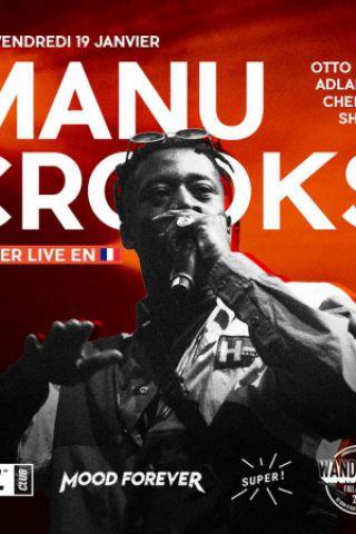 Soirée SURL Club : Turn up w/ Manu Crook$ & Friends à PARIS @ Wanderlust - Billets & Places