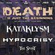 KATAKLYSM + HYPOCRISY + THE SPIRIT