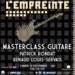 MASTERCLASS GUITARE : PATRICK RONDAT / RENAUD LOUIS-SERVAIS