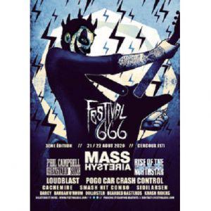 Festival 666 - 3Eme Edition Pass 2 Jours