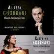 Concert Alireza Ghorbani (Iran) - Katerina Fotinaki (Grèce) à Paris @ Café de la Danse - Billets & Places