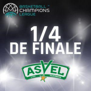 Match ASVEL - TENERIFE