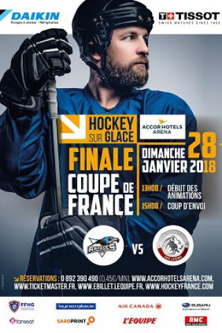 Match finale coupe de france de hockey 2018 paris accorhotels arena billets places - Billets finale coupe de france ...