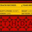 Soirée CRACKI RECORDS 5 YEARS BIRTHDAY à PARIS @ Le Rex Club - Billets & Places