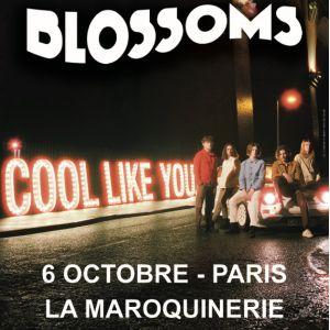 BLOSSOMS @ La Maroquinerie - PARIS