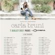 Concert CARLA BRUNI à DOLE @ La Commanderie - Dole - Billets & Places