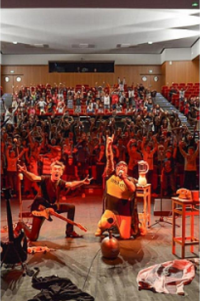 LES OREILLES ROUGES - concert pour les Minots @ Rio Grande - Montauban