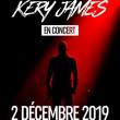 Concert KERY JAMES