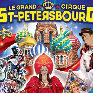 Le Grand Cirque de Saint-Petersbourg à MOULINS @ Parc des Expositions - MOULINS
