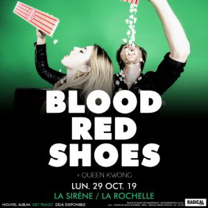 Blood Red Shoes + Queen Kwong