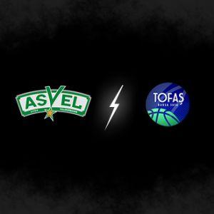 ASVEL / TOFAS BURSA @ Astroballe - Villeurbanne