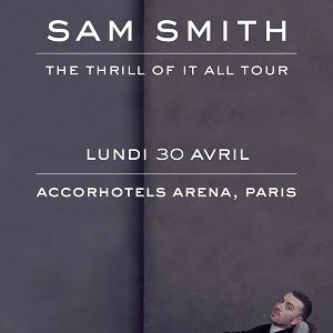 SAM SMITH @ ACCORHOTELS ARENA - PARIS 12