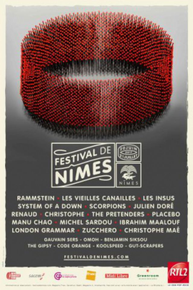 Billets ZUCCHERO + THE PRETENDERS - Arènes de Nîmes
