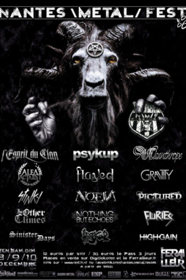 Nantes \Metal/ Fest 2017 V6(66) au ferrailleur VENDREDI !!! @ Le Ferrailleur - Nantes