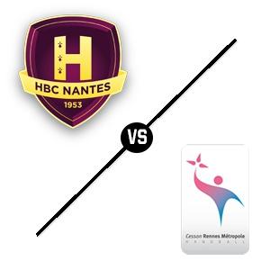 HBC Nantes - Cesson-Rennes @ Salle métropolitaine de la Trocardière - REZÉ
