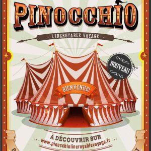Pinocchio, L'incroyable voyage @ Théâtre Municipal  - Anzin