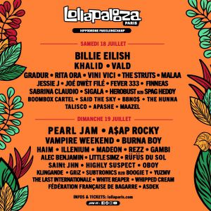 Lollapalooza Paris - Pass 2 Jours