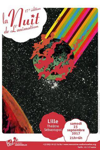 Expo NUIT DE L'ANIMATION à LILLE @ Théâtre Sébastopol - Billets & Places