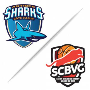 Antibes Sharks Vs Saint-Chamond