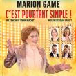 Théâtre C'EST POURTANT SIMPLE à Marsannay-La-Côte @ Maison de Marsannay - Billets & Places