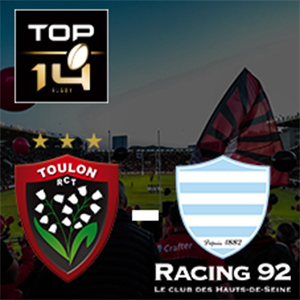 Carte RC TOULON - RACING 92