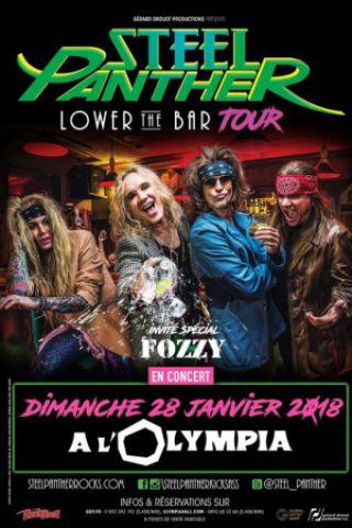 Concert STEEL PANTHER à Paris @ L'Olympia - Billets & Places