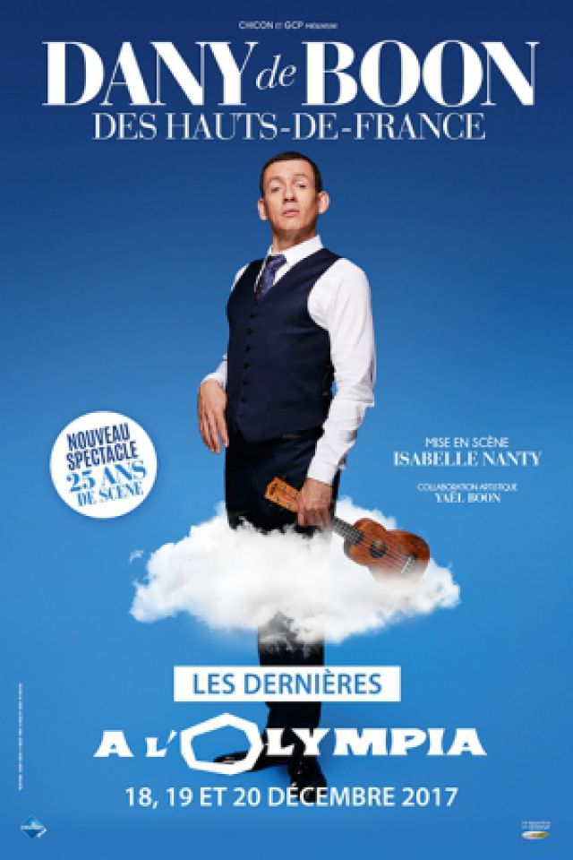 DANY BOON  @ L'Olympia - Paris