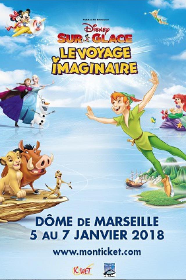DISNEY SUR GLACE  @ Le Dôme - Marseille