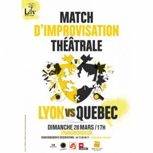 Match D'improvisation Lyon Vs Québec